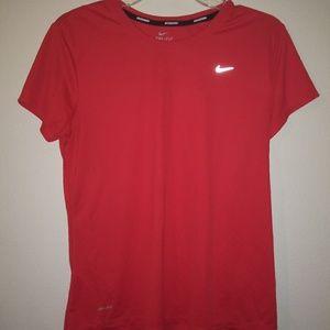 Pink Dri-Fit Nike Shirt